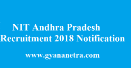 NIT Andhra Pradesh Recruitment