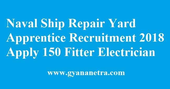 Naval Ship Repair Yard Apprentice Recruitment