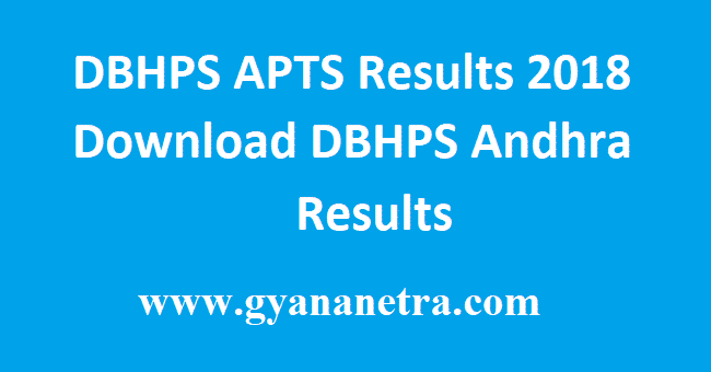 DBHPS APTS Results