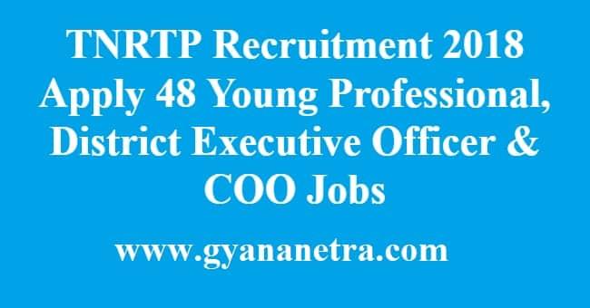 TNRTP Recruitment