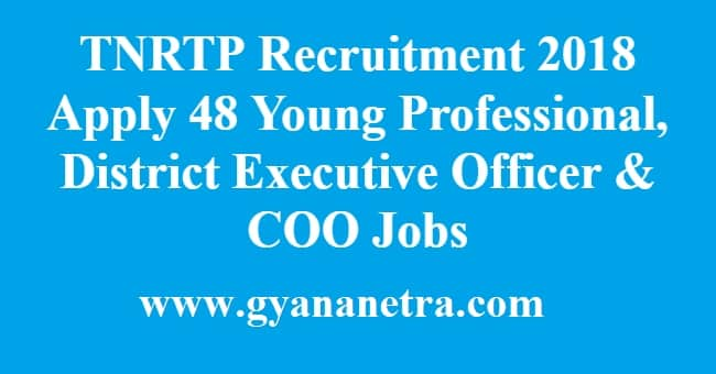 TNRTP Recruitment