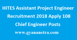 HITES Assistant Project Engineer Recruitment