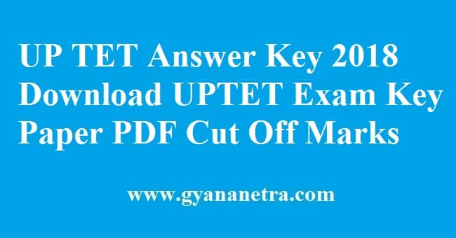 UP TET Answer Key