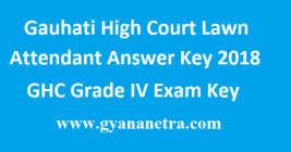 Gauhati High Court Lawn Attendant Answer Key