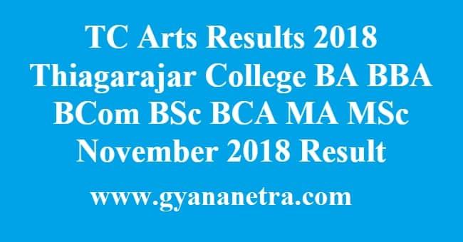 TC Arts Results