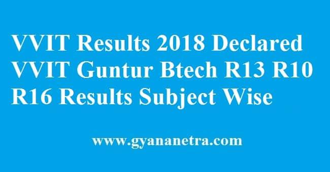 VVIT Results