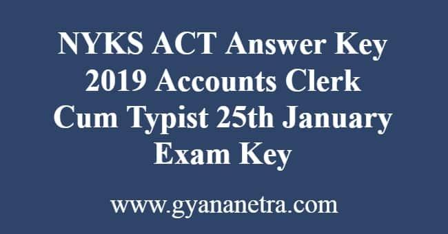 NYKS ACT Answer Key