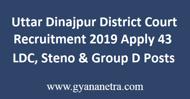 Uttar-Dinajpur-District-Court-Recruitment-2019