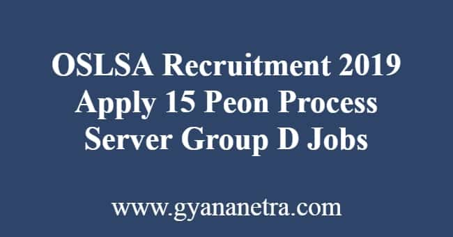 OSLSA Recruitment