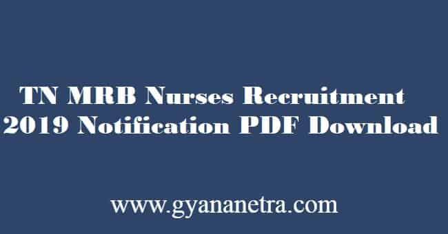 TN MRB Nurse Recruitment
