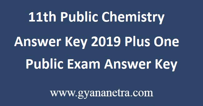 11th-Public-Chemistry-Answer-Key