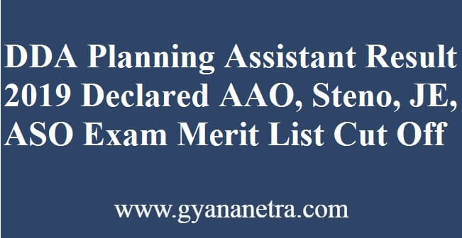 DDA Planning Assistant Result