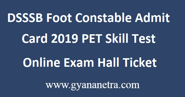 DSSSB-Foot-Constable-Admit-Card-2019
