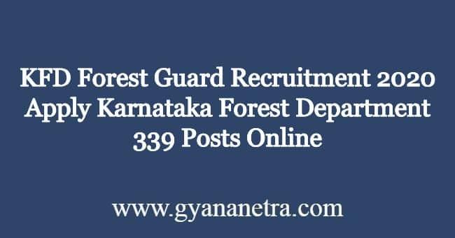 KFD-Forest-Guard-Recruitment