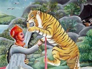 जब रणमल के बेटे ने बाघिन को मारा