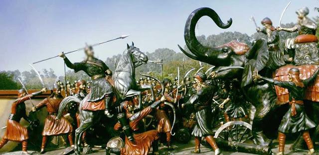 माण्डण का युद्ध : यूँ मिला प्रमाणिक इतिहास