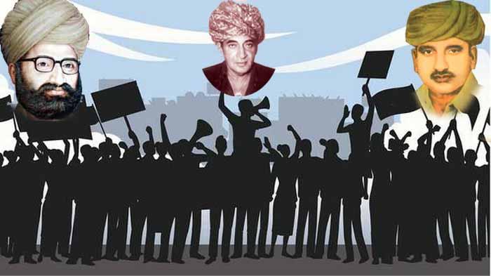 भूस्वामी आन्दोलन आजादी के बाद राजपूतों का पहला बड़ा आन्दोलन