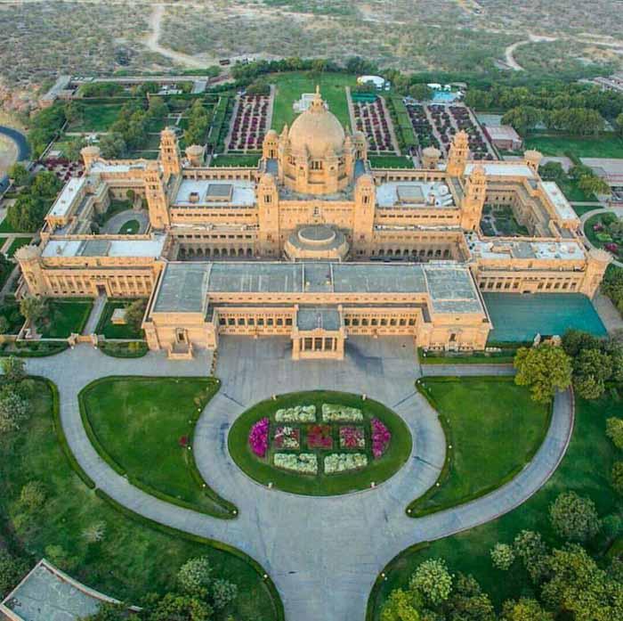 राष्ट्रपति भवन को टक्कर देता है राजपूताने का यह स्वप्निल महल