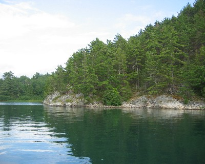 Photo: Baie Fine, North Channel, Ontario. Credit: L. Borre.