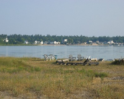 Photo: Paradise Bay (St. James Harbor), Beaver Island, Michigan. Credit: L. Borre.