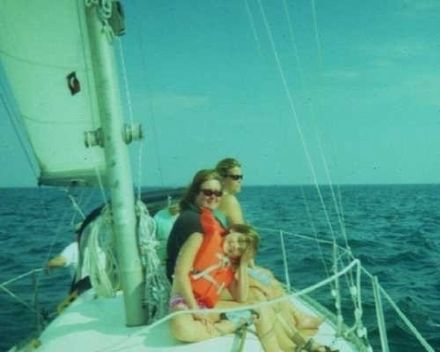 Photo: Afternoon sail, Beaver Island, 2005. Credit: L. Borre.