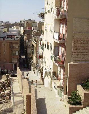 Photo: Street in Cartagena, Spain. Credit: Lisa Borre.