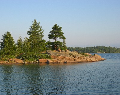 Photo: Croker Island, North Channel, Ontario. Credit: L. Borre.