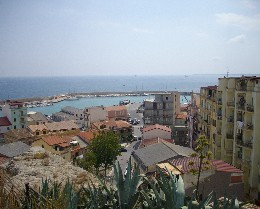Photo: View from the castle in Crotone, Italy. Credit: Lisa Borre.