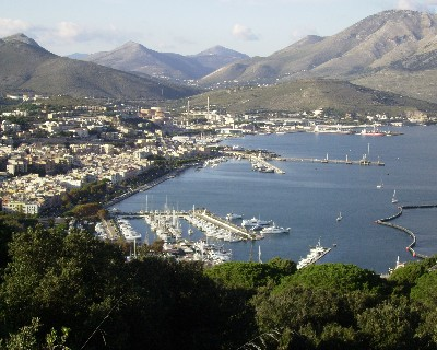 Photo: View of Marina in Gaeta, Italy. Credit: Lisa Borre.