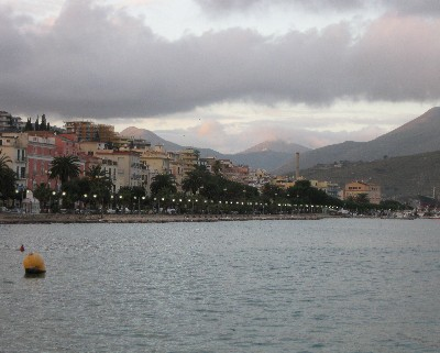 Photo: Rainy day in Gaeta, Italy. Credit: Lisa Borre.