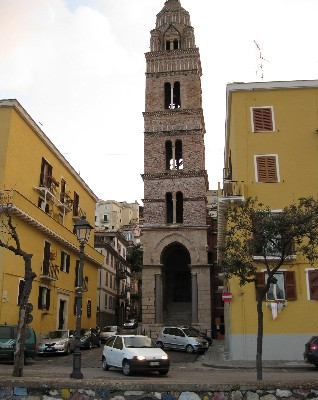Photo: Duomo's bell tower in Gaeta, Italy. Credit: Lisa Borre.