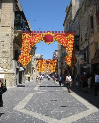 Photo: Historic city center of Valetta, Malta. Credit: Lisa Borre.