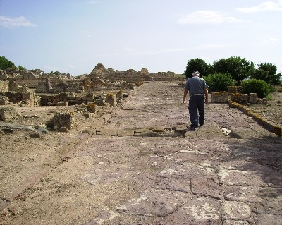 Photo: Archeological site known as Nora in Pula. Credit: Lisa Borre.