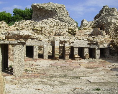 Photo: Ruins at Nora, Sardinia. Credit: Lisa Borre.