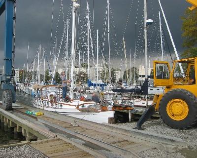 Photo: Tayana 37 Gyatso at Port Annapolis. Credit: Lisa Borre.
