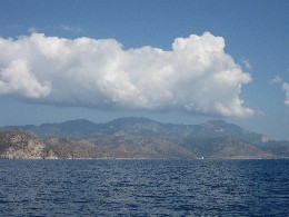 Photo: Turkish coast. Credit: Lisa Borre.