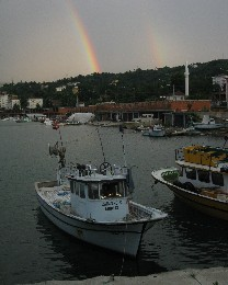 Photo: Rainbow in Pazar, Turkey. Credit: Lisa Borre.
