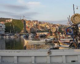 Photo: Sinop, Turkey on the Black Sea. Credit: Lisa Borre.