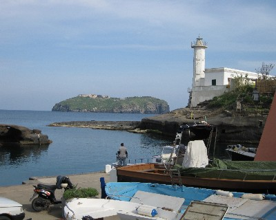 Photo: Ancient Roman harbor on Ventotene, Italy. Credit: Lisa Borre.