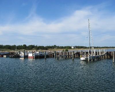Photo: Whitefish Point Harbor of Refuge, Lake Superior. Credit: L. Borre.