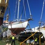 Photo: yacht shipment.