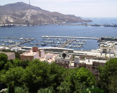 Photo: atural harbor in Cartagena. Credit: Lisa Borre.