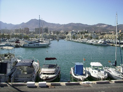 Photo: Large marina in Benalmadena, Spain. Credit: Lisa Borre.