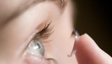 kontaktinės linzės