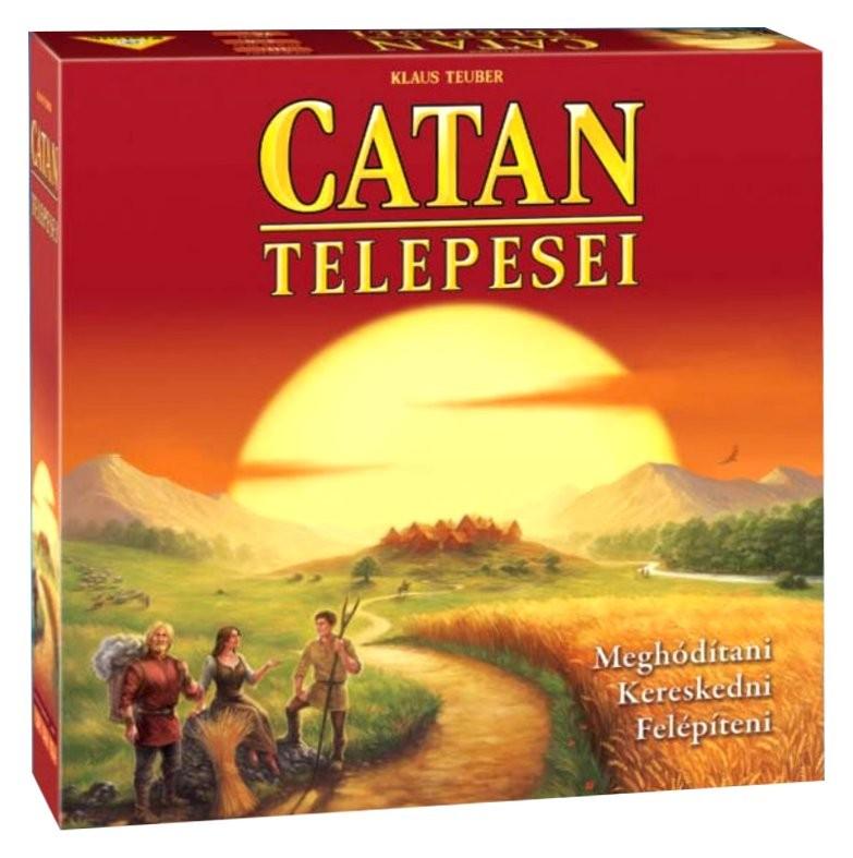 Catan Telepsei társasjáték