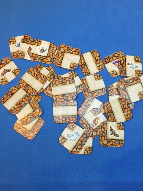 Labirintus társasjáték labirintus kártyák