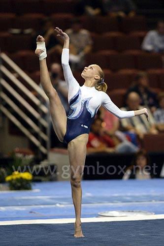 Former Ukranian team member Irina Yarotskaya...
