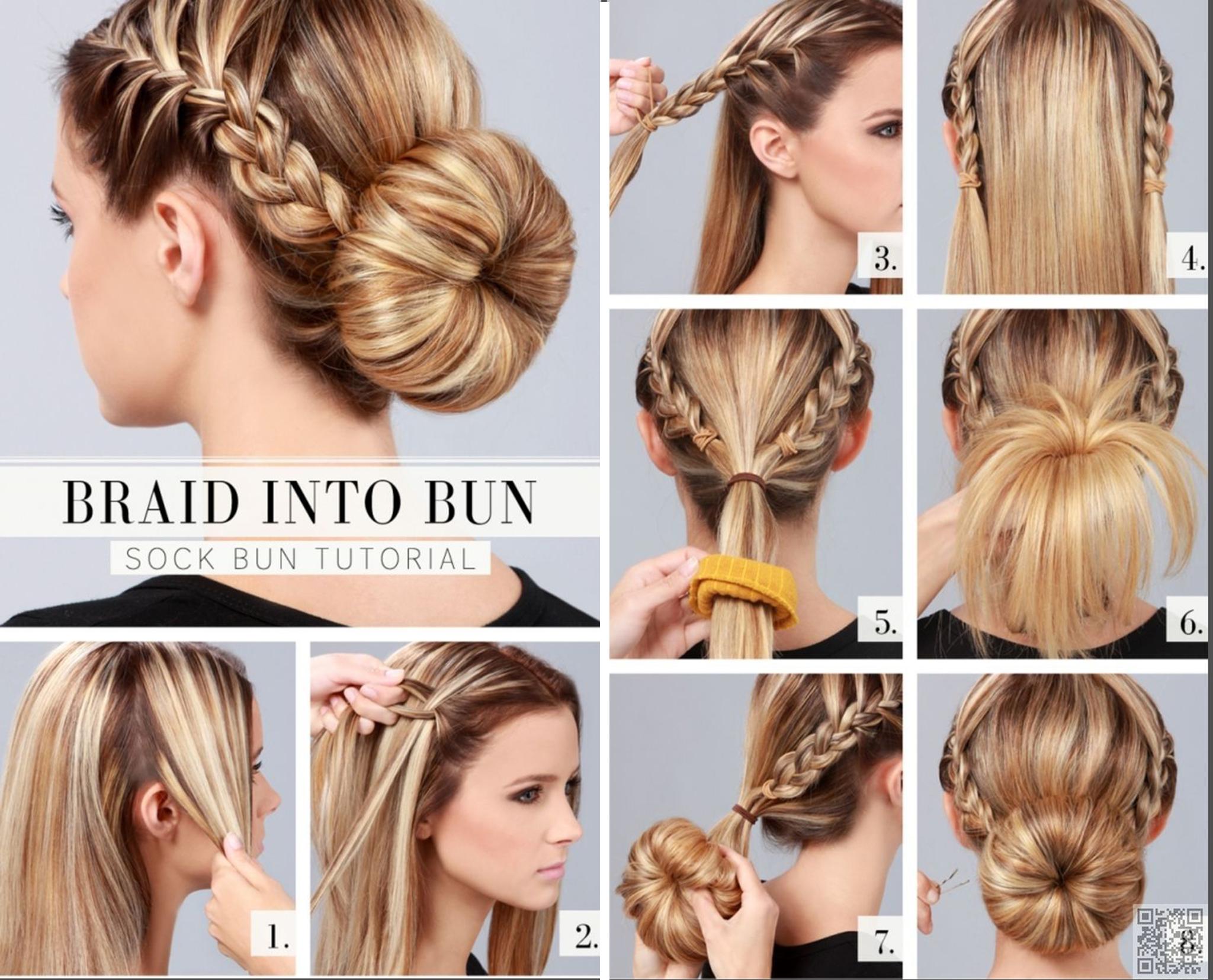5 Super Chic Bun Hairstyle Tutorials