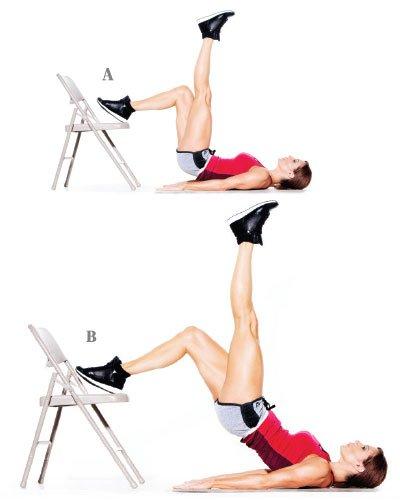 Élévation de la hanche sur une jambe