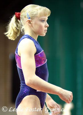 2008 Junior European Champion Tatiana Nabieva of Russia